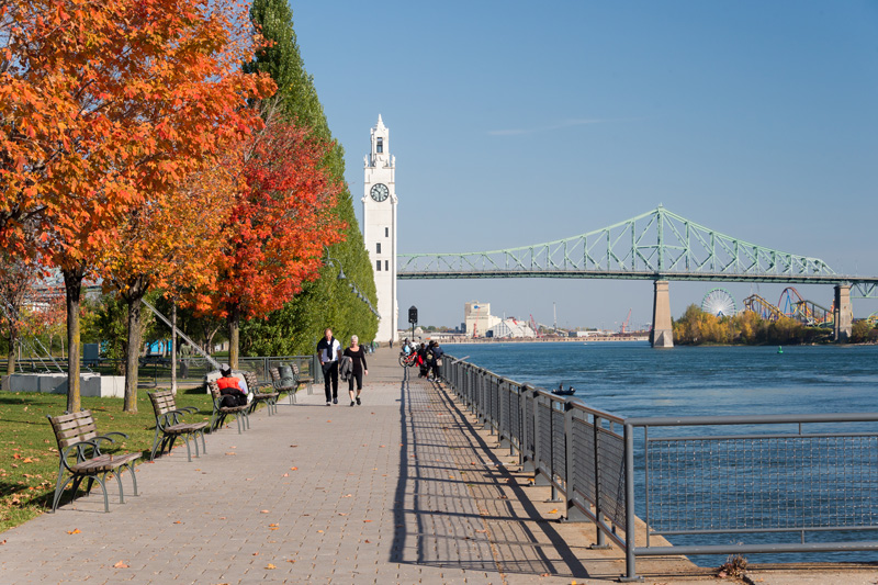 There are so many beautiful sights to enjoy while on holiday in this special city, such as Parc Jean Drapeau; Jacques Cartier Bridge or Old Port and Clock Tower Beach.