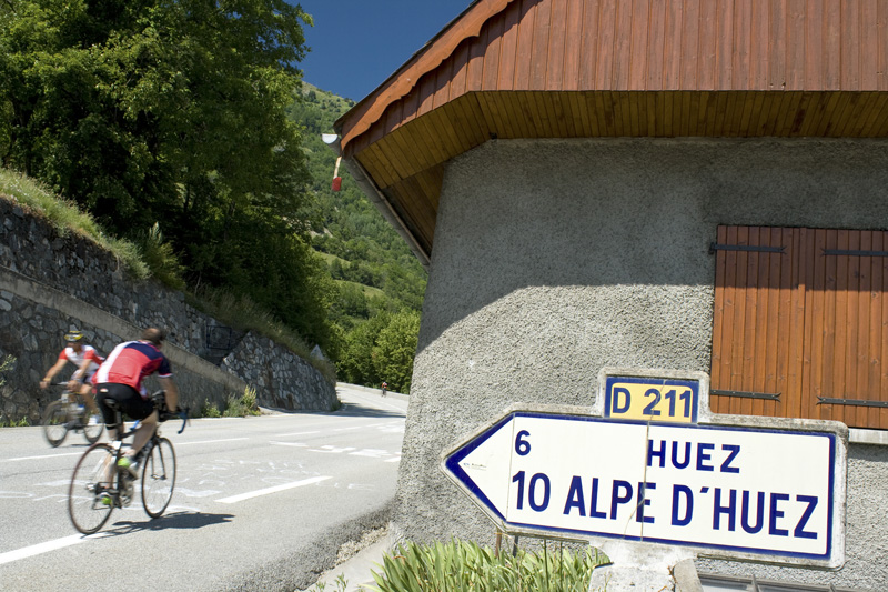 If cycling isn't really your thing, the Alpe d'Huez is a fantastic ski destination. So if you're more of a winter person, give this area a try when the white stuff falls.