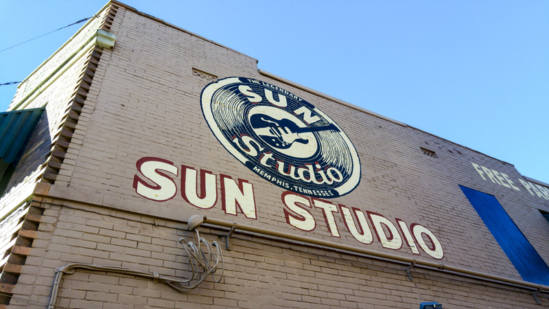 Holidays to Memphis wouldn't be the same without a trip to Sun Studios. Some of music's biggest hits were recorded here.