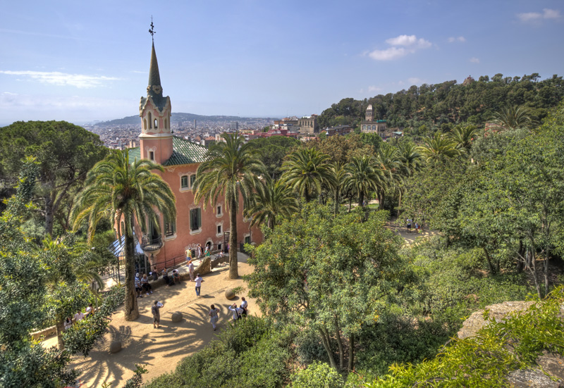 Gaudí House Museum sits within the Park Güell and was the architect's home. It is now open to the public and is filled with items which he designed - is is a very interesting museum to wander around.