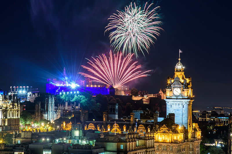 This year's Fringe comes to a close on 26 August with a spectacular firework display - not to be missed!
