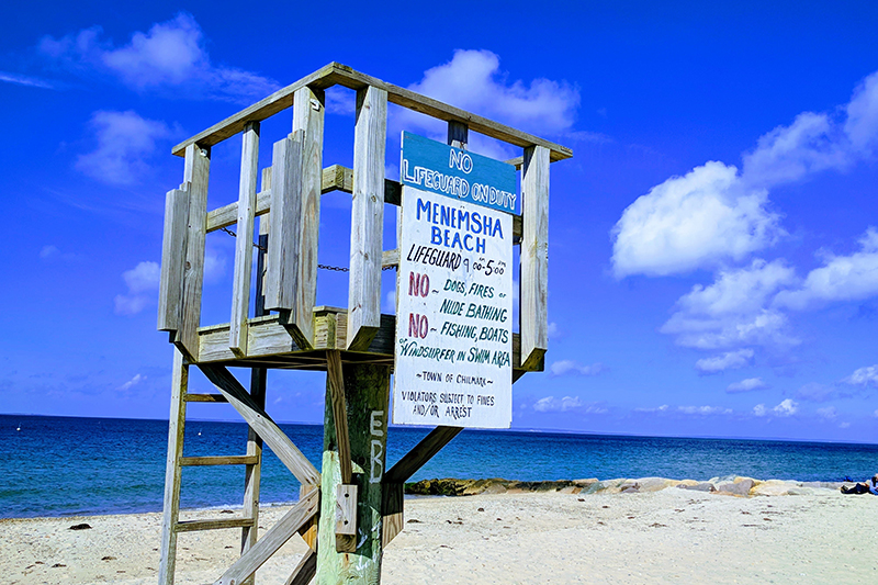 Who hasn't seen the old classic film - Jaws. Do you remember those times, when you were hiding behind the sofa in anticipation of the shark attack? Take a visit to Martha's Vineyard in Massachusetts, where some famous scenes were shot.