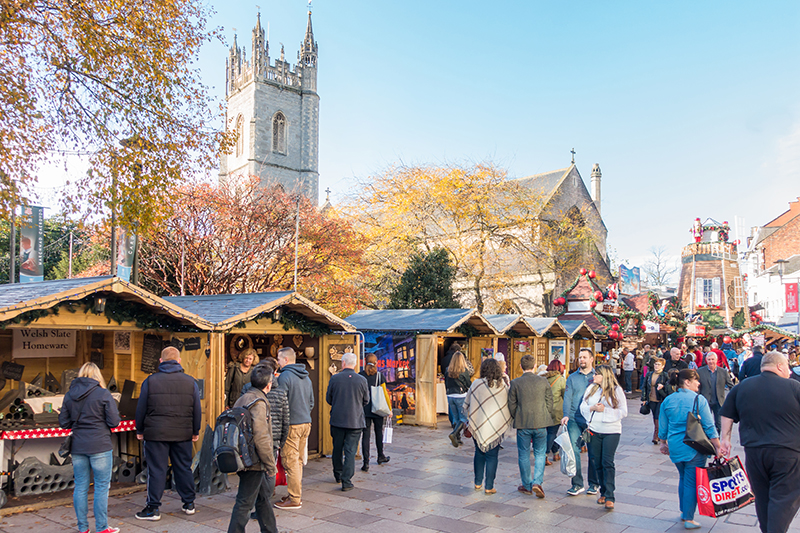 Wrap up and spend a cold, crisp day on foot at Cardiff's Christmas Market, which has been a much-loved addition to the city's calendar for over 20 years.