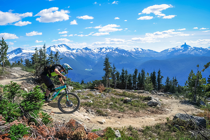 Love mountain biking? Then this is that special place for you. Bikers rave about riding here, in the  highly challenging and magnificent surroundings. Watch out for any grizzly bears en route!