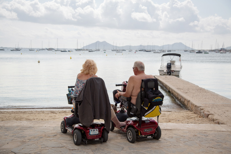 Mobility aids can be rented at your destination if your travel companion can walk, but needs a little help for longer days out. Many attractions and events also provide mobility aids on loan for the duration of your visit - always ask.