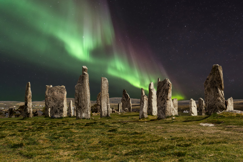 For those in the UK, you might not have to go too far to catch the Northern Lights dancing in the sky. They're often spotted in the skies in the highlands of Scotland.