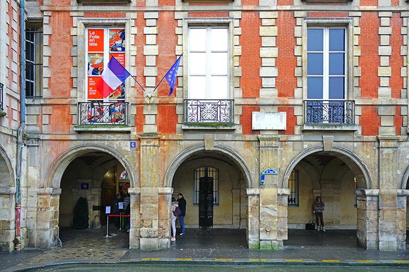 The legendary French Romantic novelist, poet and lyricist, Victor Hugo, lived in this very apartment for 16 years, known then as number 6, Place Royale.