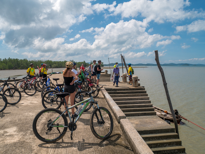 Carmel and Ian wanted to see the 'real' Thailand so they hired bicycles and cycled on Koh Yao Noi island. They had a traditional Thai meal with the locals and really enjoyed their day.