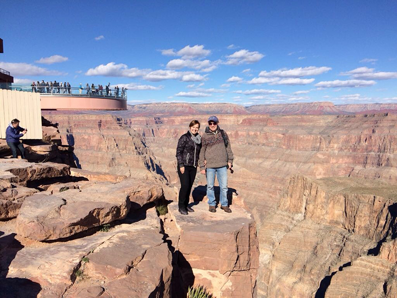 While at the Grand Canyon, make sure you take lots of pictures as a souvenirs of your trip.