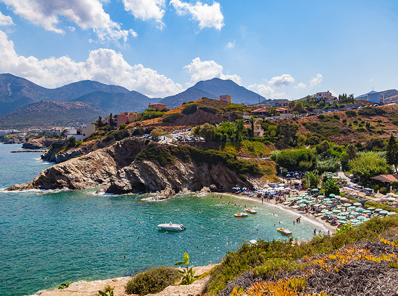 Bali in Crete is a charming small fishing village north of Heraklion and south of Rethymno, which was Amy's base for her holiday.