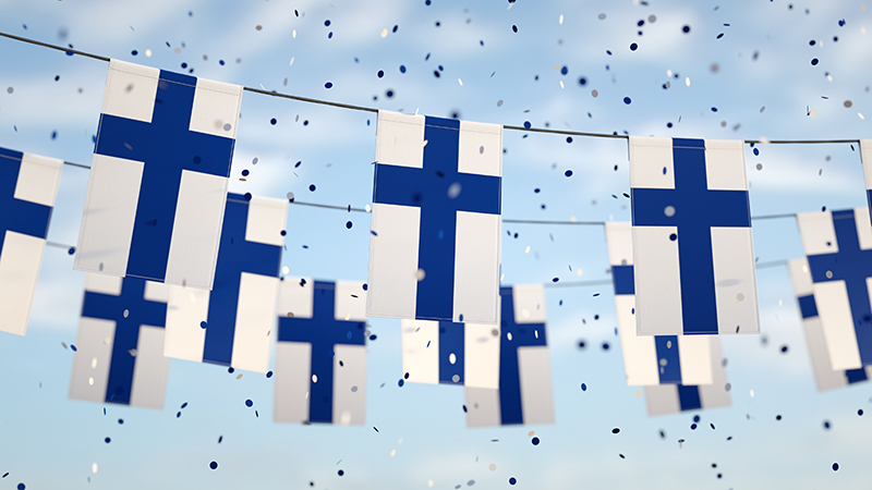 You'll be hard-pressed to miss the blue and white of the Finnish flag this 6 December, as Finns up and down the country celebrate Independence Day.